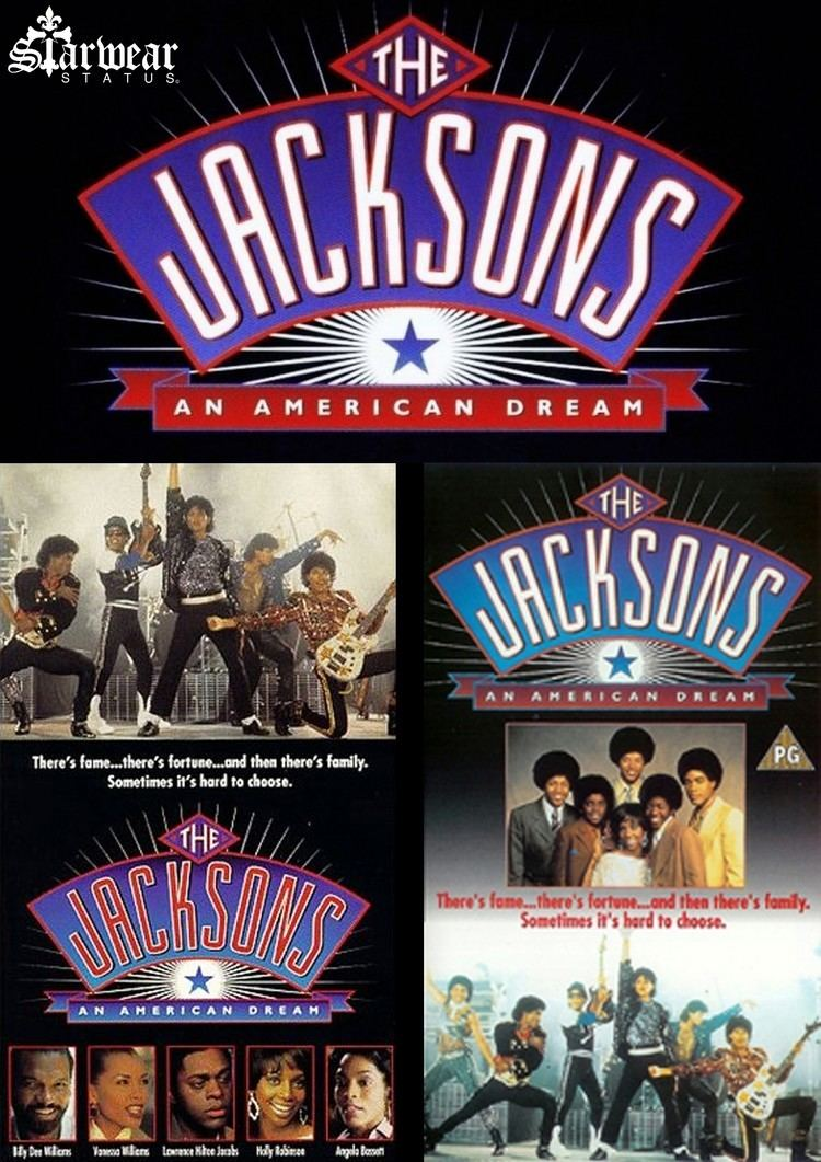 The Jacksons: An American Dream The Jacksons An American Dream Movie CREW Black AVIATOR Leather