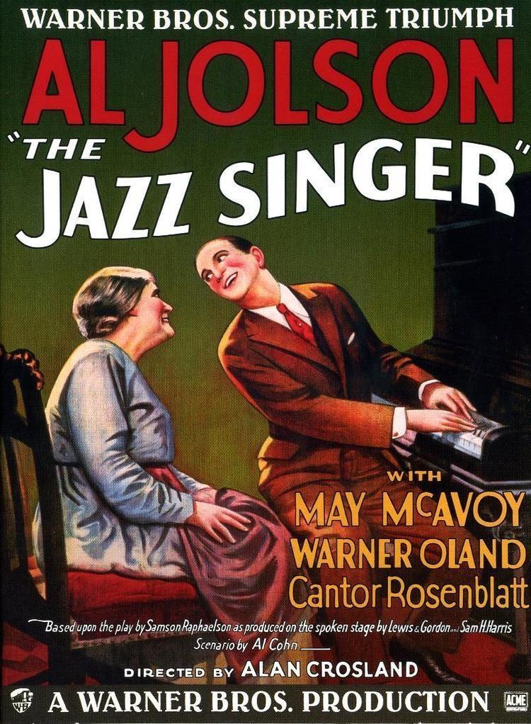 The Jazz Singer The Jazz Singer Wikipedia
