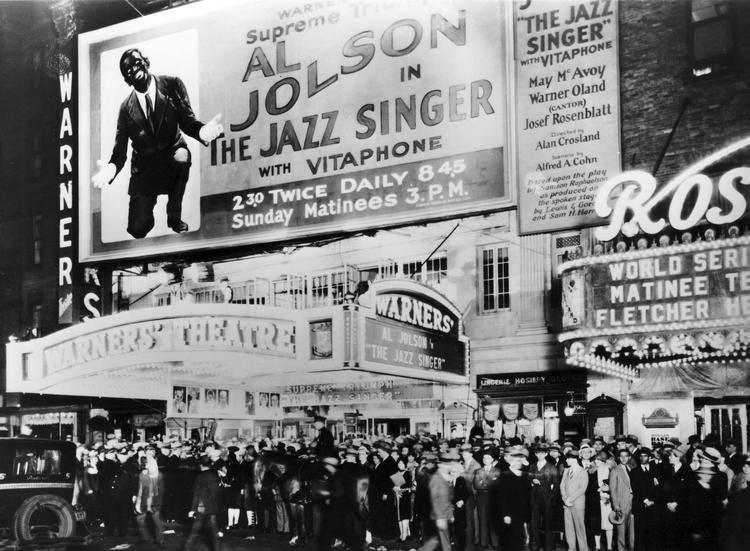 The Jazz Singer 1927 The Jazz Singer Film 1920s The Red List