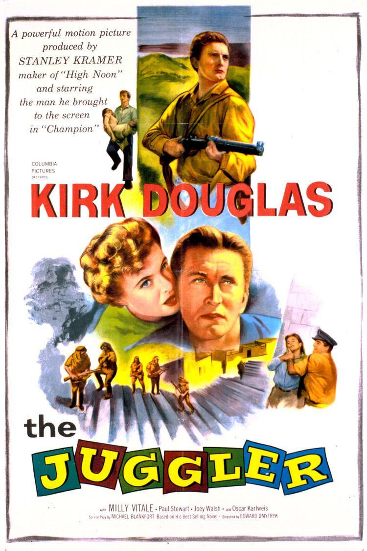 The Juggler (film) wwwgstaticcomtvthumbmovieposters37164p37164