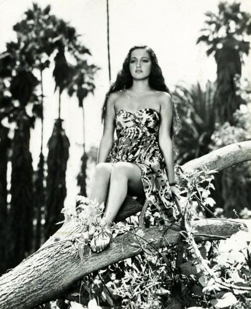 The Jungle Princess Dorothy Lamour on the Set of The Jungle Princess HOLLYWOOD GOES