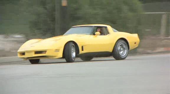The Junkman IMCDborg 1981 Chevrolet Corvette C3 in The Junkman 1982