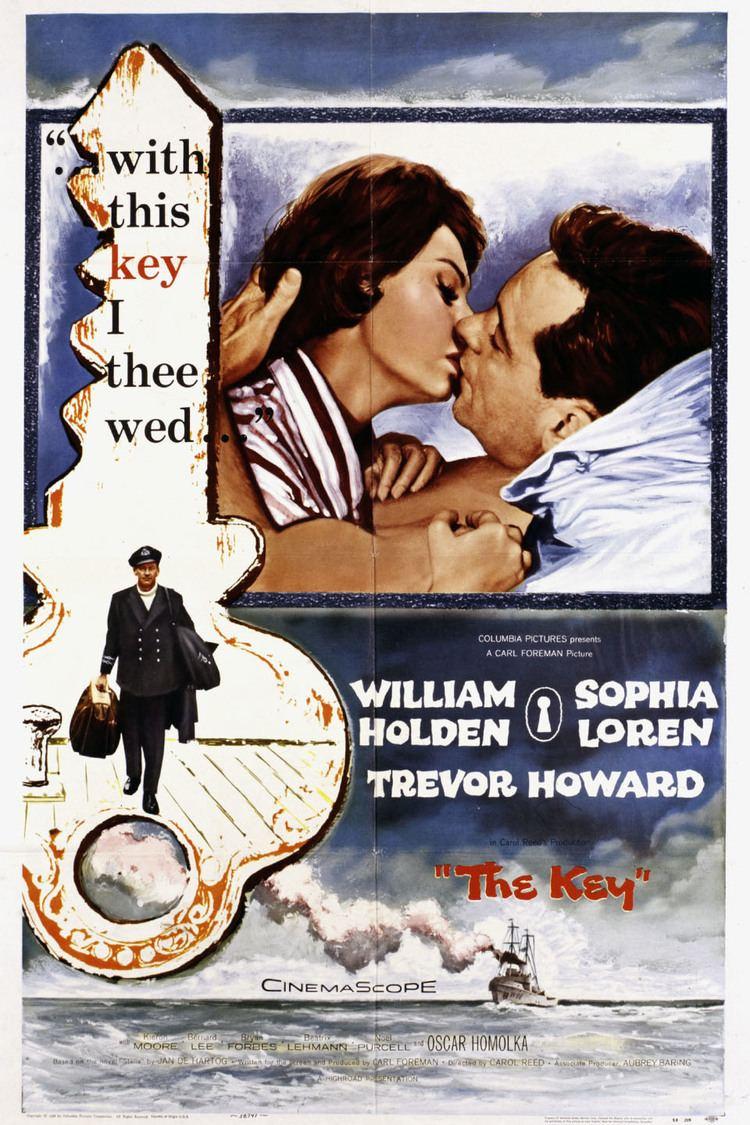 The Key (1958 film) wwwgstaticcomtvthumbmovieposters37244p37244
