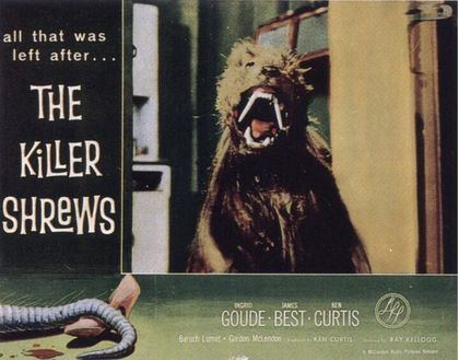 The Killer Shrews Creature Double Feature THE BLACK SCORPION 1957 and THE KILLER