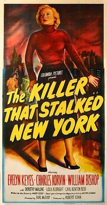The Killer That Stalked New York The Killer That Stalked New York 1950 Film Noir of the Week