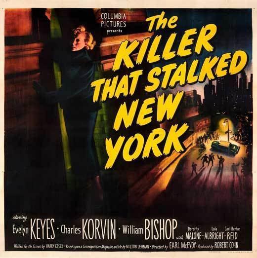 The Killer That Stalked New York The Killer That Stalked New York Movie Posters From Movie Poster Shop
