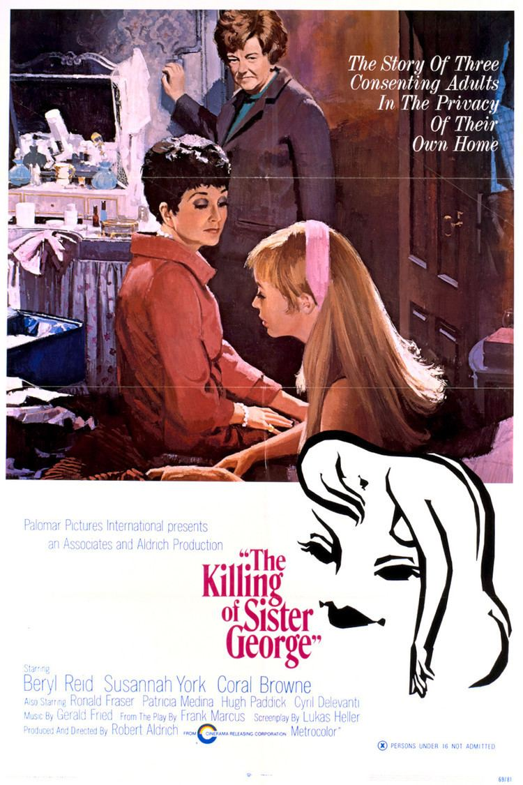 The Killing of Sister George wwwgstaticcomtvthumbmovieposters42343p42343