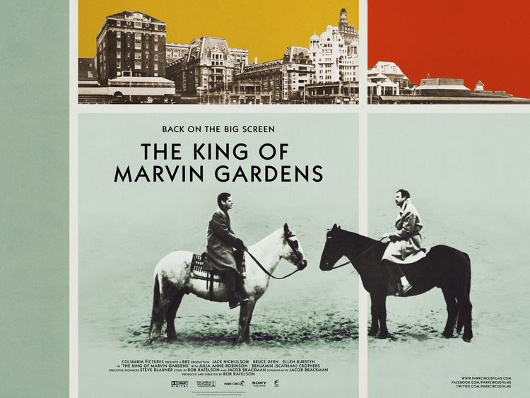 The King of Marvin Gardens New poster for The King of Marvin Gardens