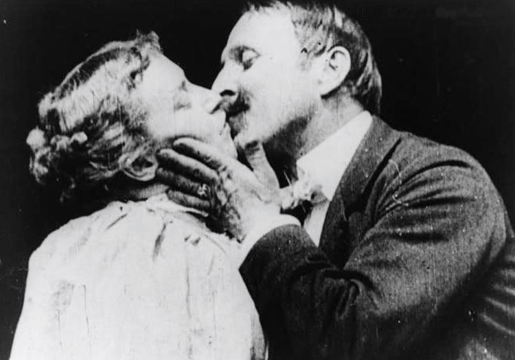 The Kiss (1896 film) Short Film Saturday The Kiss 1896 The Movie Rat