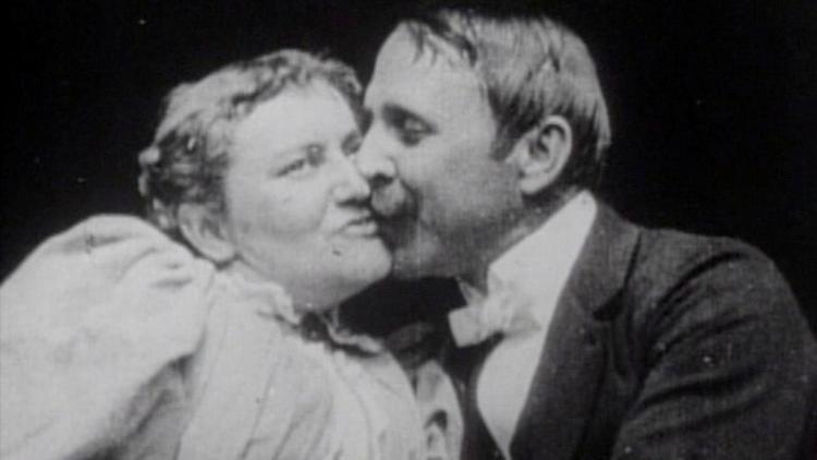 The Kiss (1896 film) The Kiss 1896 MUBI