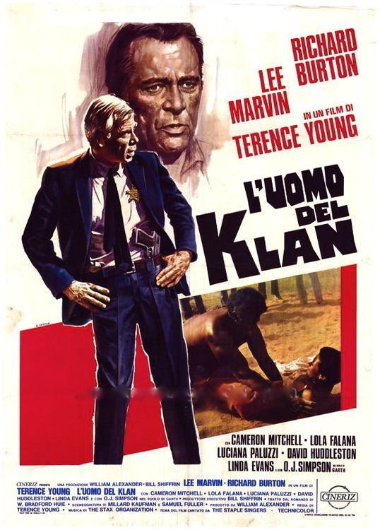 The Klansman THE KLANSMAN Lee Marvin Richard Burton Uncut for sale