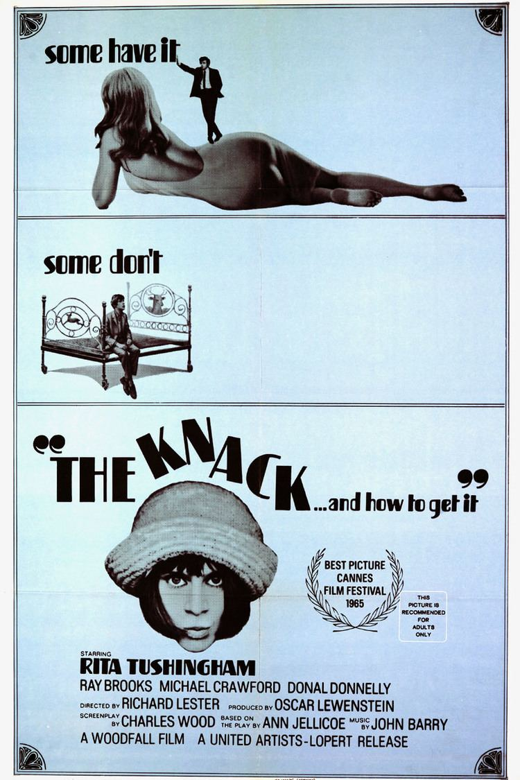 The Knack …and How to Get It wwwgstaticcomtvthumbmovieposters10620p10620