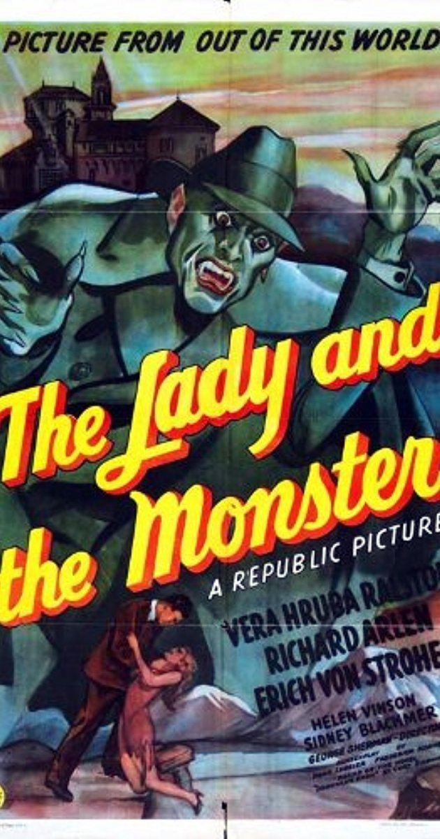 The Lady and the Monster The Lady and the Monster 1944 IMDb