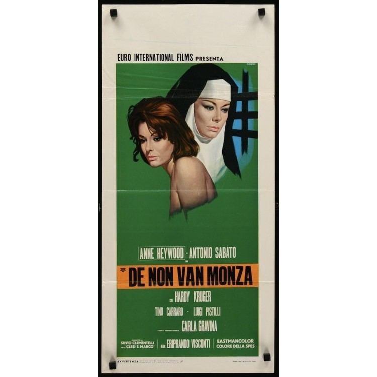 The Lady of Monza The Lady Of Monza la monaca di Monza Italian locandina poster
