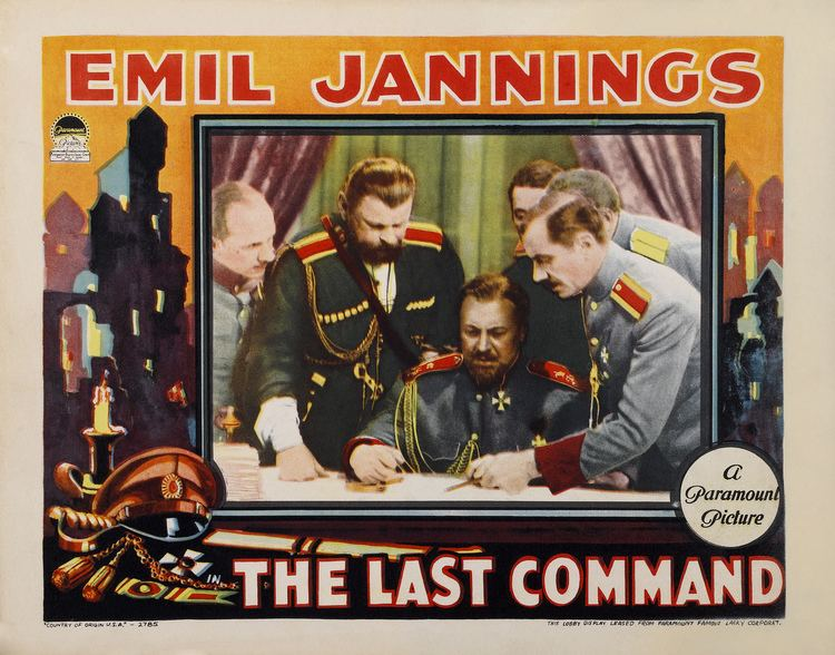 The Last Command (1928 film) Last Command The 1928