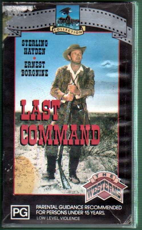 The Last Command (1955 film) Frankly Collectible
