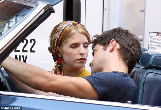The Last Five Years movie scenes Cool co stars Anna Kendrick and Jeremy Jordan were seen filming a scene on
