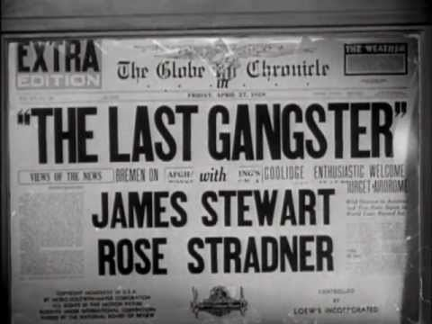 The Last Gangster The Last Gangster 1937 title sequence YouTube