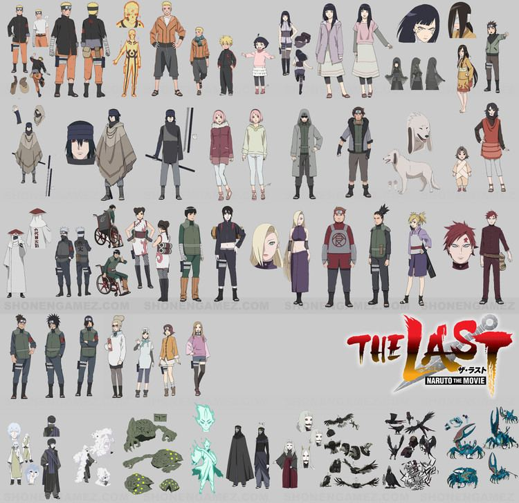 The Last: Naruto the Movie All the people from The Last Naruto the Movie Anime World