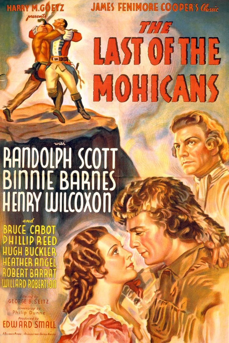 The Last of the Mohicans (1936 film) wwwgstaticcomtvthumbmovieposters110p110pv