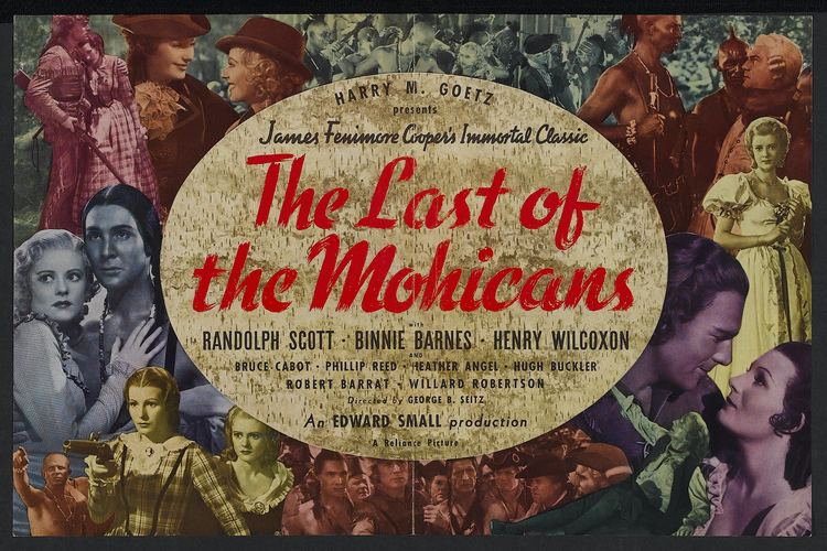 The Last of the Mohicans (1936 film) Last of the Mohicans The 1936