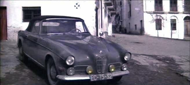 The Last Run IMCDborg 1957 BMW 503 in The Last Run 1971