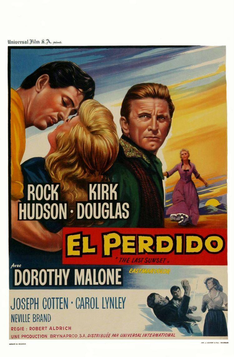 The Last Sunset (film) The Last Sunset 1961 Kirk Douglas Kirk Douglas 1916