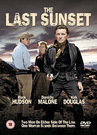 The Last Sunset (film) The Last Sunset DVD Amazoncouk Rock Hudson Kirk Douglas