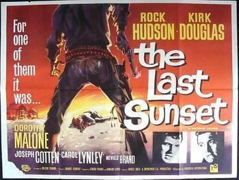 The Last Sunset (film) THE LAST SUNSET ORIGINAL QUAD POSTER