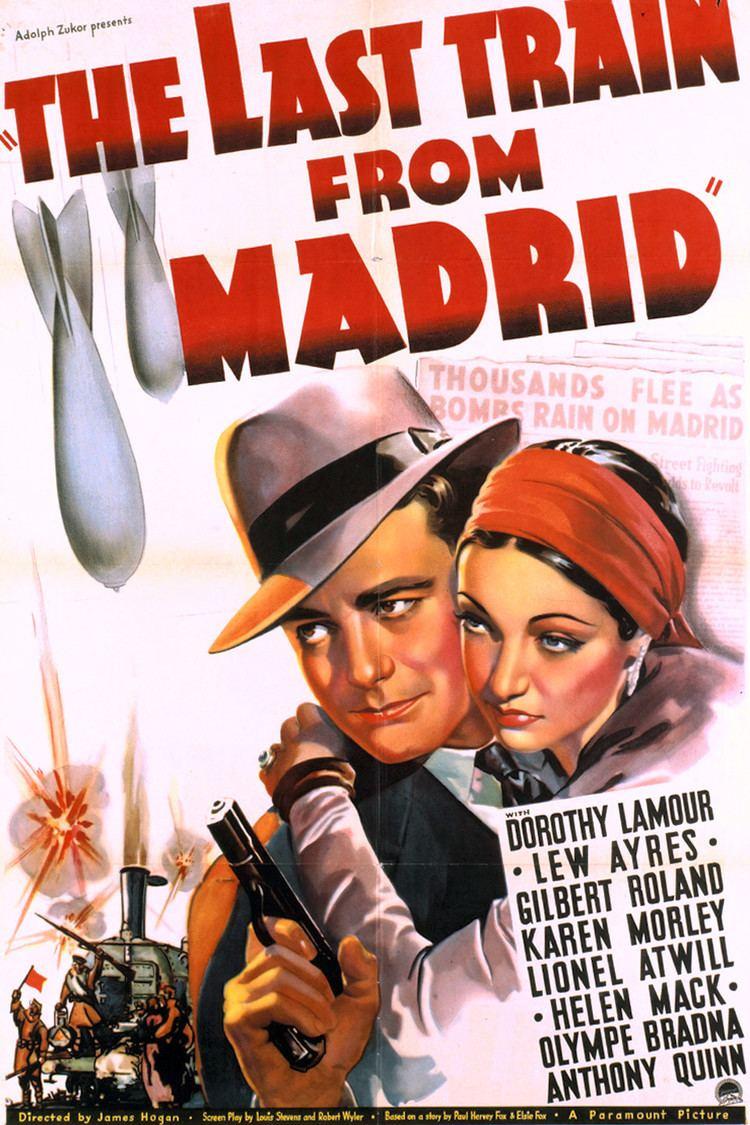 The Last Train from Madrid wwwgstaticcomtvthumbmovieposters45421p45421