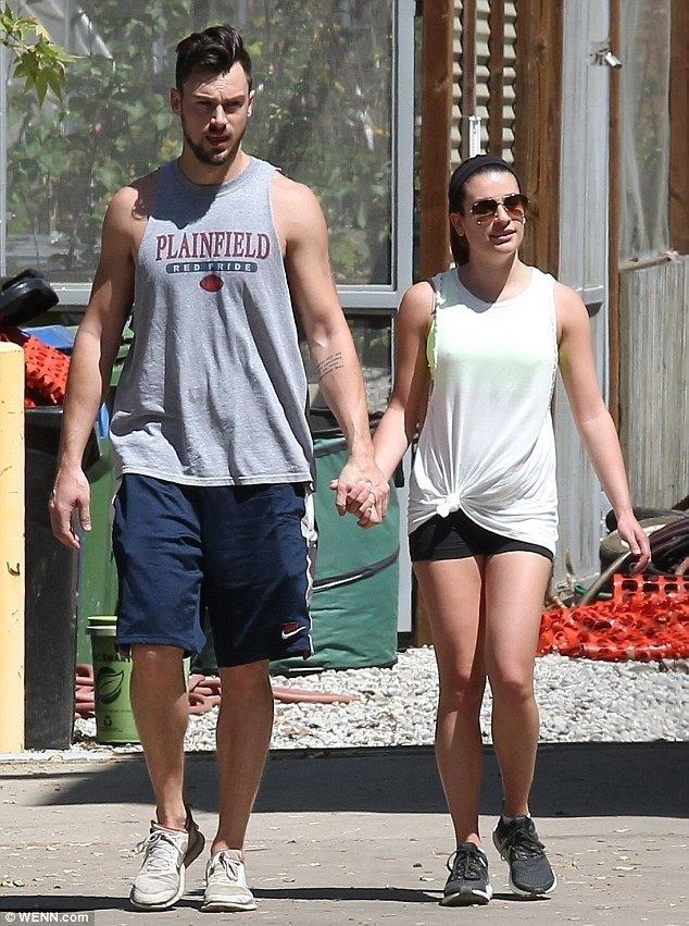 The Layover (film) Lea Michele bonds with costar as they rehearse for upcoming film