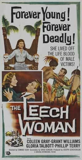 The Leech Woman The Leech Woman Movie Posters From Movie Poster Shop