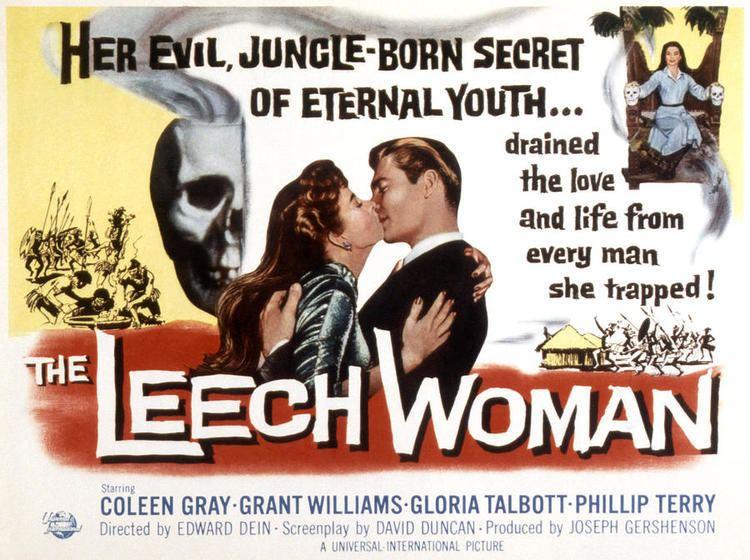 The Leech Woman The Leech Woman USA 1960 HORRORPEDIA