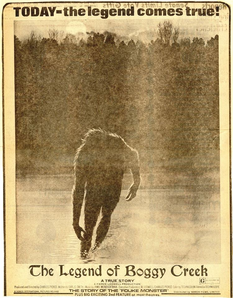The Legend of Boggy Creek May 1st The Legend of Boggy Creek 1972 The League of Dead Films