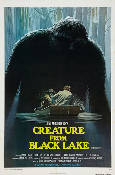 The Legend of Boggy Creek Cryptomundo Boggy Creek Movies Poster Artist Dies
