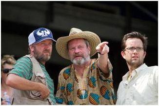The Legend of Hallowdega David Arquette Interview SCREAM 4 and Terry Gilliams THE LEGEND OF