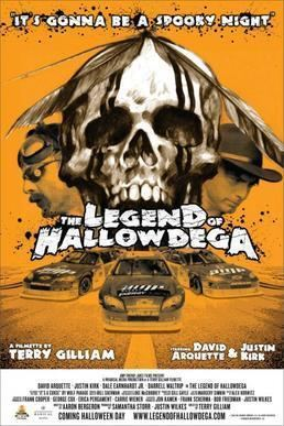 The Legend of Hallowdega movie poster