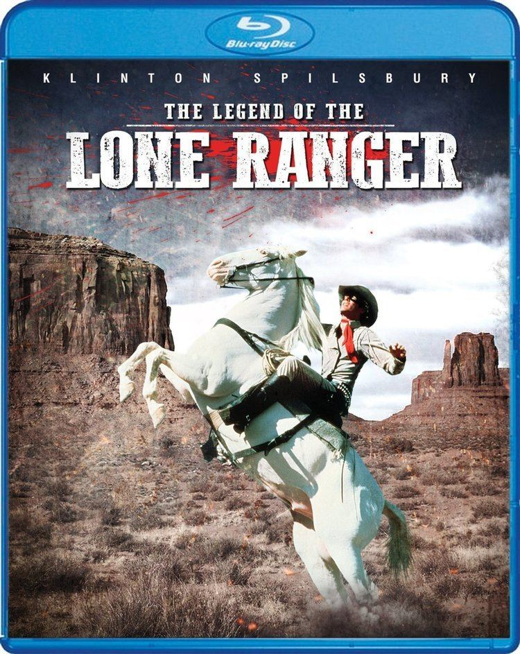 The Legend of the Lone Ranger The Legend of the Lone Ranger Bluray