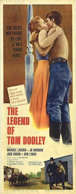 The Legend of Tom Dooley Legend of Tom Dooley movie posters at movie poster warehouse