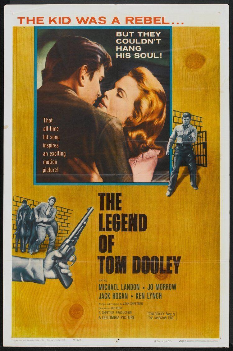The Legend of Tom Dooley The Legend of Tom Dooley 1959 Cult Movie Memorabilia Pinterest