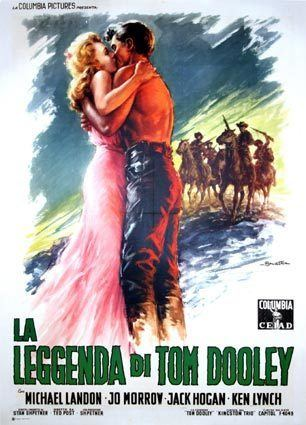 The Legend of Tom Dooley LEGEND OF TOM DOOLEY the with TED POST 1959 WESTERN 39 x 55