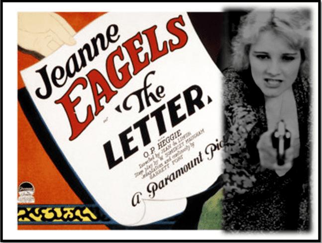 The Letter (1929 film) The Letter 1929 Toronto Film Society Toronto Film Society
