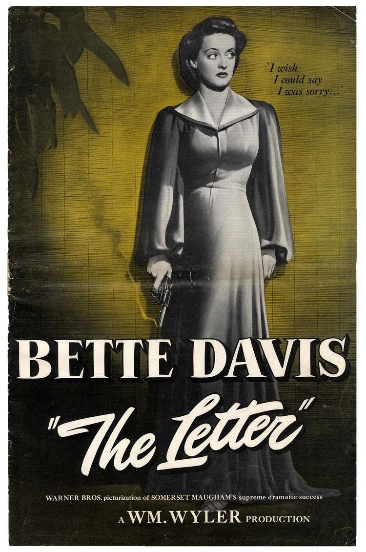 The Letter (1940 film) 1940The Letter Romans lab