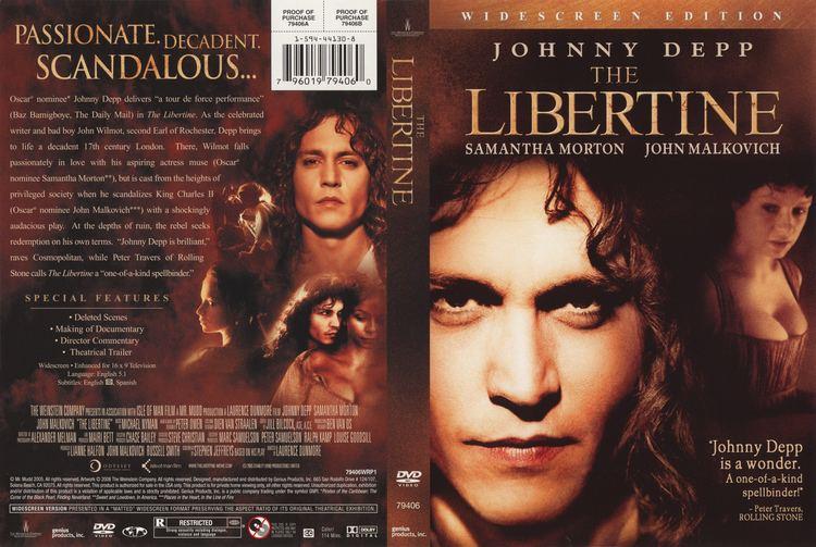 The Libertine (2004 film) The Libertine 2004 WS R1 Movie DVD CD Label DVD Cover Front