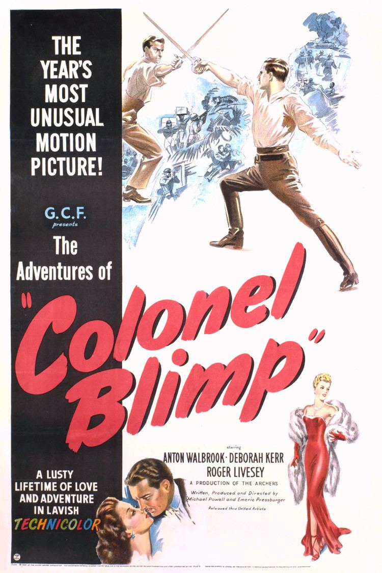 The Life and Death of Colonel Blimp wwwgstaticcomtvthumbmovieposters6218p6218p