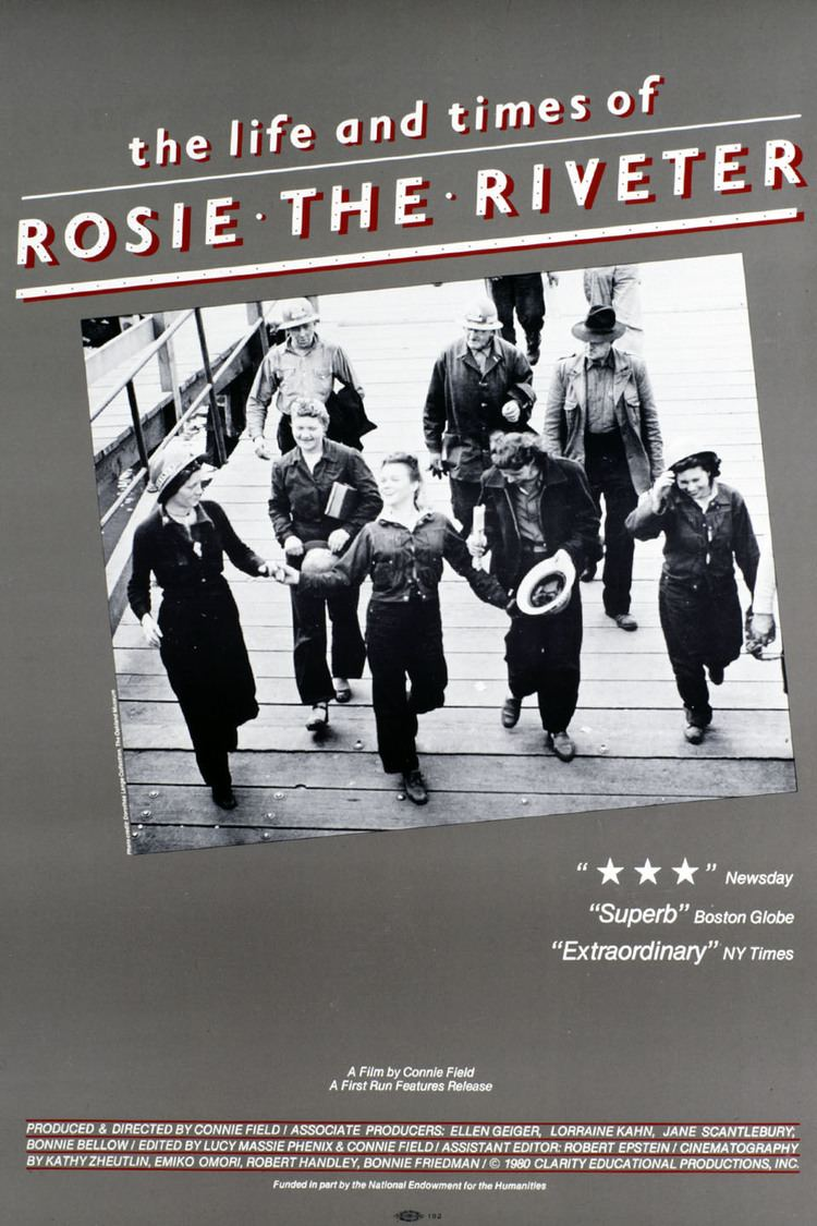 The Life and Times of Rosie the Riveter wwwgstaticcomtvthumbmovieposters41498p41498