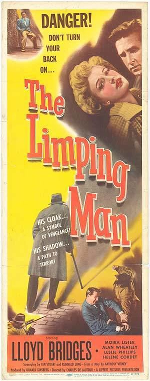 The Limping Man (1953 film) Limping Man movie posters at movie poster warehouse moviepostercom