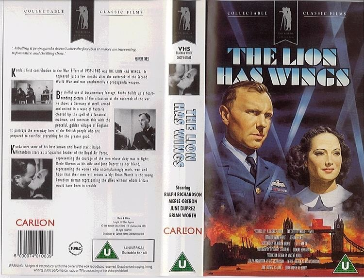 The Lion Has Wings Powell Pressburger Images The Lion Has Wings 1939