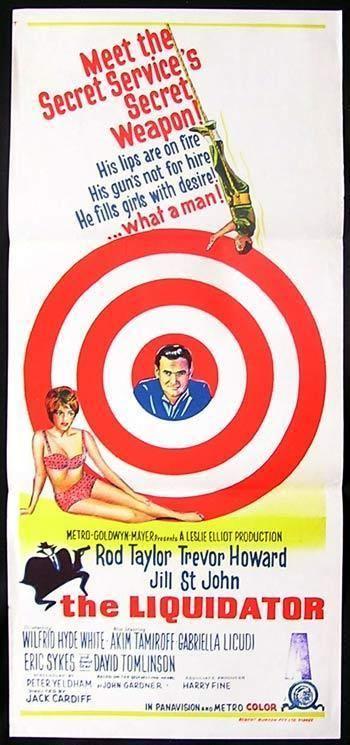 The Liquidator (1965 film) THE LIQUIDATOR Daybill Movie Poster Rod Taylor Jill StJohn