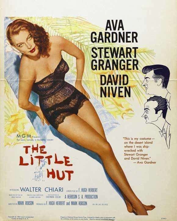 The Little Hut The Little Hut 1957 with Ava Gardner Classic Film Freak